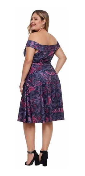 Precioso Vestido Tallas Extras Plus