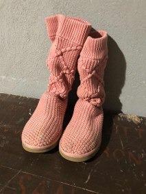 Botas Artesanales Tejidas Al Crochet Por Pedido