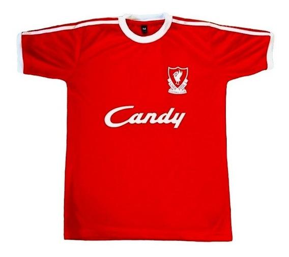 Camiseta Liverpool Campeon 1989 - 1990 Retro Roja