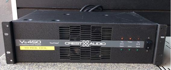 Potencia Amplificador Crest Audio Vs 450
