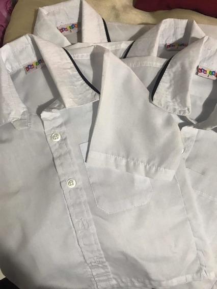 Uniforme Camisa Blanca Bambino Talla 2
