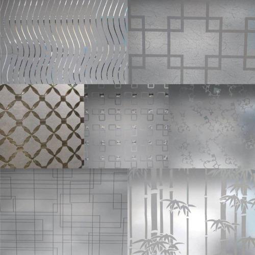 Vinilo Adhesivo Decorativo Para Ventana * 1 Metros