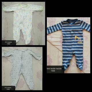 Pijamas Niño Recién Nacido Y 0-3 Meses