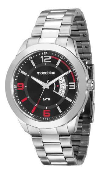Relógio Mondaine Análogo 45mm Pulseira Aço 78720g0mvna1