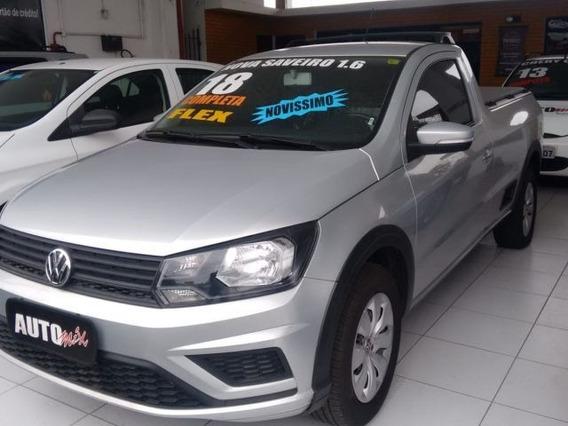 Volkswagen Saveiro Trendline Cs 1.6 Msi Total Flex, Qnb5708