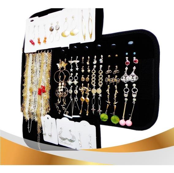 Kit Folheado A Ouro Ou A Prata Ou Misto Vc Escolhe Semi Joia Direto Fabrica Kit 58 Pçs + Mostruario E Etiqueta De Brinde