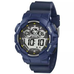 Relógio Masculino X-games Top Xmppd344 Azul A Pronta Entrega