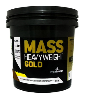 Massa Gold Hipercalorico Baunilha 4kg Sports Nutrition