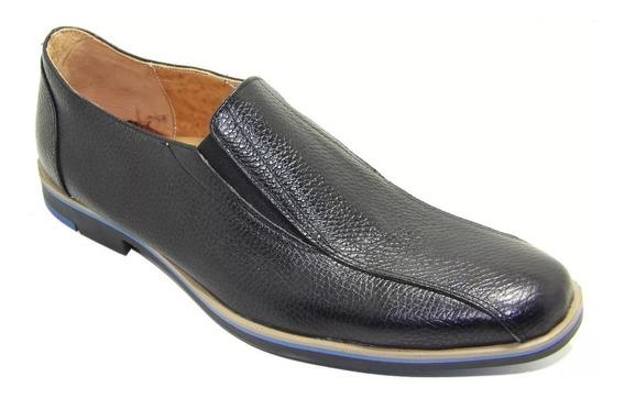 Calzado Zapato De Cuero Bicolor Slack. Art 2015
