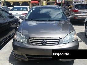 Toyota Corolla S 04 Dorado