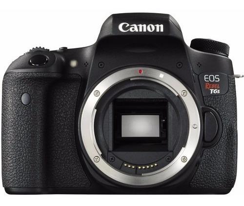 Câmera Canon Eos Rebel T6s Dslr (apenas Corpo) 24.2 Mp
