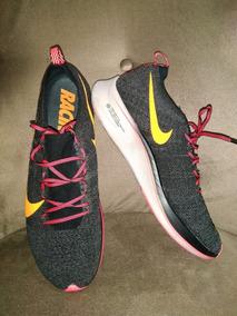 Nike Zoom Flyknit Racer Black Tamanho 11 Us