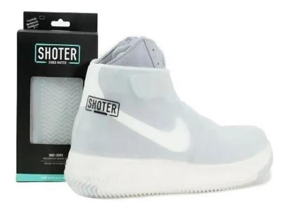 Cubre Calzado De Silicona Shoter Shoe Cover Blanco