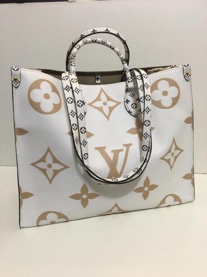 Bolsa Louis Vuitton Onthego Monograma Giant 100% Couro