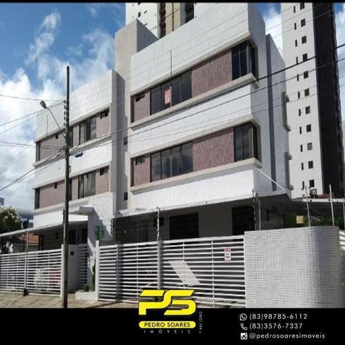 (oportunidade)  Apartamento Com 2 Dormitórios À Venda, 60 M² Por R$ 220.000 - Bairro Dos Estados - João Pessoa/pb - Ap4226