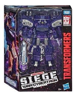 Transformers Shockwave, Siege War For Cybertron