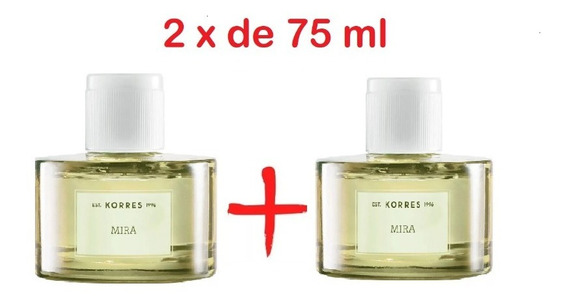 Kit Com 2 Perfume Feminino Mira Korres Avon 100ml Cada