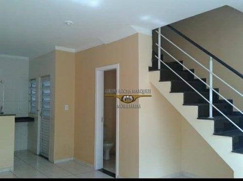 Imagem 1 de 13 de Sobrado Com 2 Dormitórios À Venda, 90 M² Por R$ 330.000,00 - Vila Antonieta - São Paulo/sp - So1613