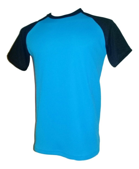 Camisetas Futbol Dry Fit Mangas Ranglan Color Hasta Xl