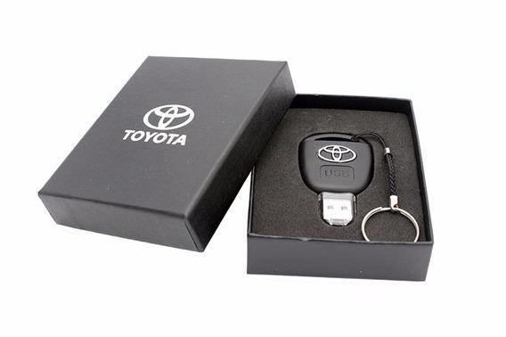 Pen Drive Toyota Chave 32gb - Chaveiro + Caixa Presente