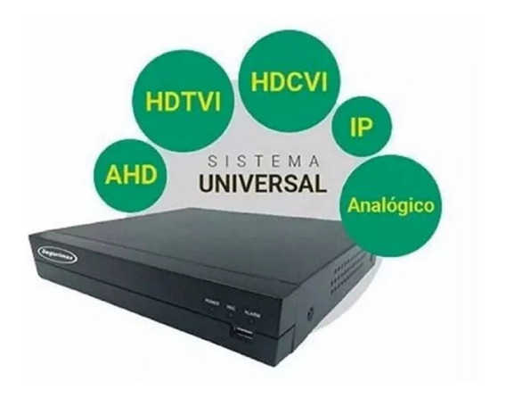 Dvr 08 Canais Flex- Hd/ Hdcvi/ Hdtvi/ Analogico/ Ip- Cameras
