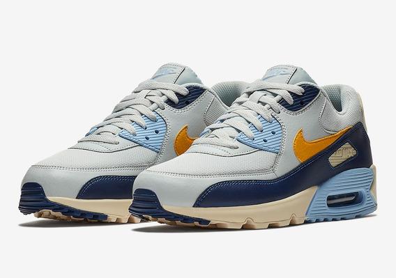 Nike Air Max 90 Pure Platinum Blue Void
