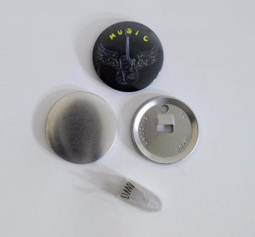 Button Clip (100 Unidades) 55mm