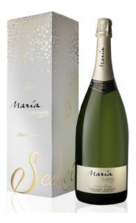 Estuche Botellon Champagne Maria Codorniu Extra Brut X1500cc