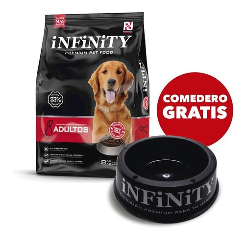 Alimento Perros Adultos Infinity Premium 8 Kgs
