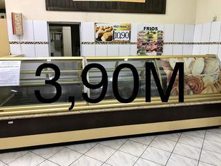 Expositor/vitrine De Pães, Bolos E Salgados Arneg 3.90mts.