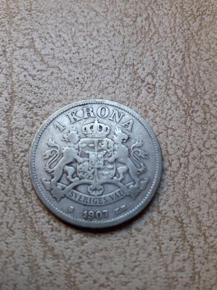 Suecia 1 Corona