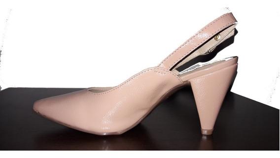 Zapato Grimoldi- Stiletto- Rosa Charol- Azaleia- Mujer