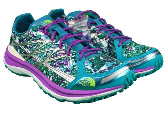 Tenis The North Face Mujer Azul W Ultra Tr Ii Nf00ckm4erv055