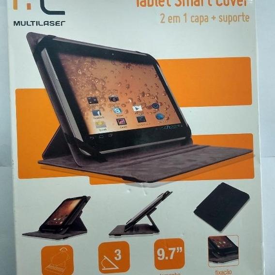 Capa Multilaser Tablet Smart Cover 2 Em 1 Capa + Suporte