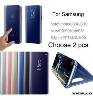 Caja Del Tel Fono Espejo Para Samsung Note9 / S10 / S9 / M20