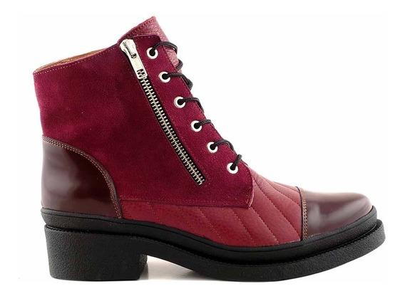 Borcego Mujer Bota Cuero Premium Briganti Zapato Mcbo24613