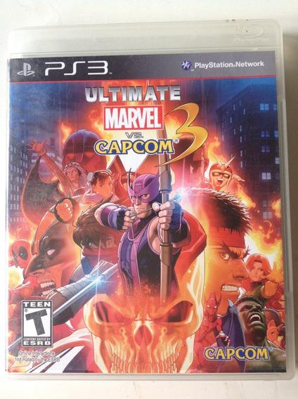 Jogo Ps3 Ultimate Marvel Vs. Capcom 3