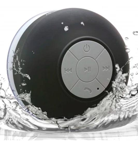 Bocina Bluetooth Next Shower Negra Contra Agua