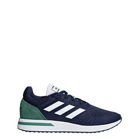 Tenis adidas Masculino Branco Azul Run70s + Frete Grátis