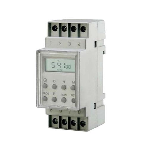 Temporizador Digital Trilho 220v Liga E Desliga Exatron C/nf