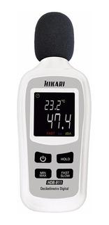 Mini Decibelímetro Digital Hikari Hdb-911-21n221