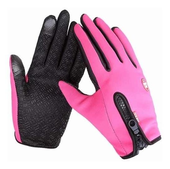 Guantes Tacticos De Neopreno Touch Color Rosa Touch D1120