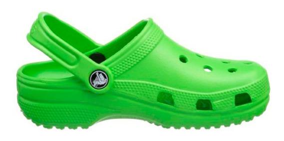 Crocs Hombre Mujer Classic Lime Originales