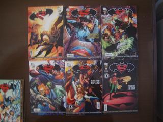 Hq Superman & Batman Panini Completo 1 Ao 56 + Especiais
