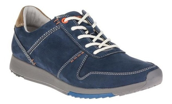 Sneaker Hush Puppies Casuales Hombre Hm01543-410navy
