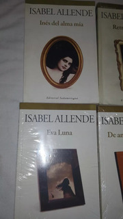 6 X Libros De Colección De Isabel Allende Leer Antes Ofertar