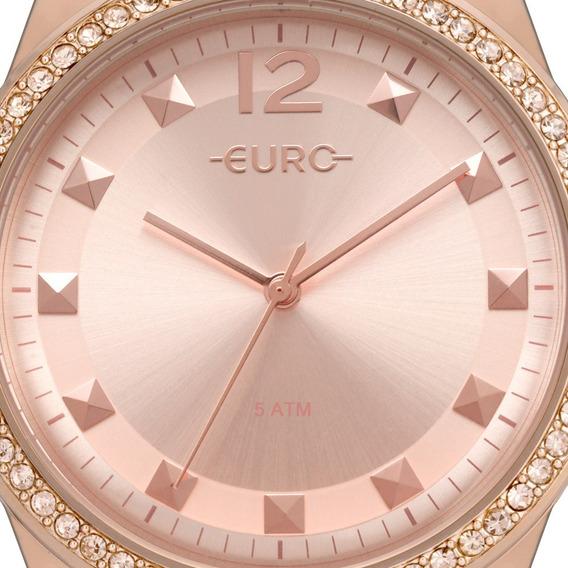 Relógio Euro Feminino Rosê Eu2035yrm/4j