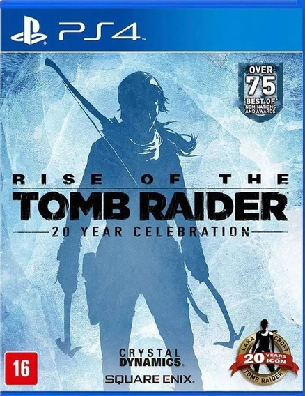 Jogo Rise Of The Tomb Raider Playstation 4 Ps4 Pronta Entreg