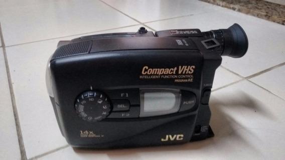Câmera Filmadora Jvc Gr-ax710 Vhsc 14xzoom - Com Peq Defeito