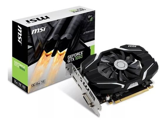 Placa De Video Msi Nvidia Geforce Gtx 1050 2gb Gddr5 Oc Gtia